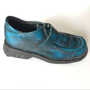 Vintage Dr Martens Made in England Punk Shoe
